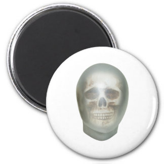 AnonymousSkull061209 2 Inch Round Magnet