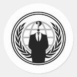 Anonymus Logo Sticker