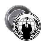 Anonywear Badge Pinback Button