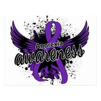 Anorexia Awareness 16 Postcard