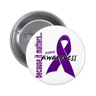 Anorexia Awareness Button