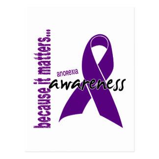 Anorexia Awareness Postcard