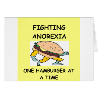 ANOREXIA CARD