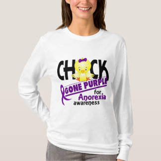 Anorexia Chick Gone Purple 2 T-Shirt
