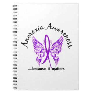 Anorexia de la mariposa 6,1 libro de apuntes con espiral