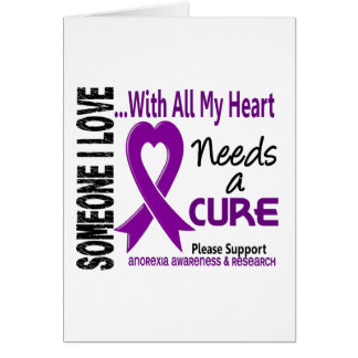Anorexia Needs A Cure 3 Cards
