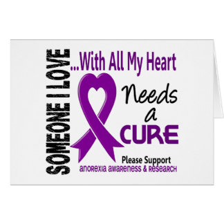 Anorexia Needs A Cure 3 Card