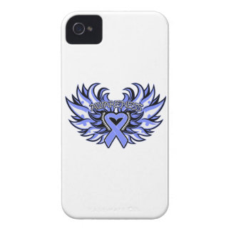 Anorexia Nervosa Awareness Heart Wings iPhone 4 Case-Mate Cases
