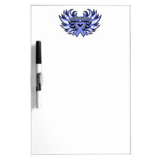 Anorexia Nervosa Awareness Heart Wings Dry Erase Boards