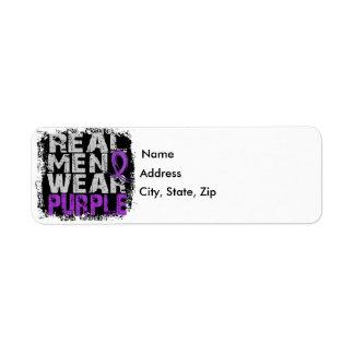 Anorexia Real Men Wear Purple Label