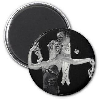 Años 30 que bailan a Deco Imán Redondo 5 Cm