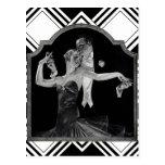Años 30 que bailan a Deco Postal