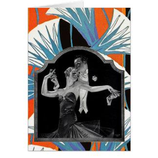 Años 30 que bailan a Deco Tarjeton