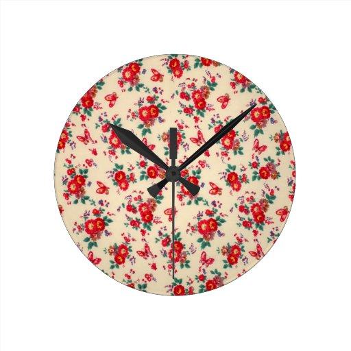Años 50 florales del PJ. Relojes