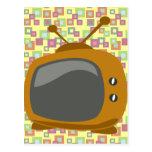 Años 50 TV Tarjetas Postales