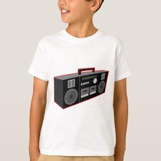 años 80 Boombox Playera