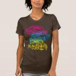 años 80 Boomboxes estarcido Camisetas