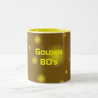 Años 80 de oro tazas