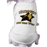 años 80 hambrientos como el lobo camisas de mascota
