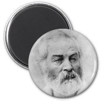 Años de guerra civil de la edad 44 de Walt Whitman Imán Redondo 5 Cm