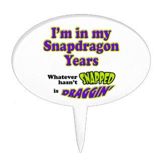 Años de Snapdragon Decoraciones De Tartas