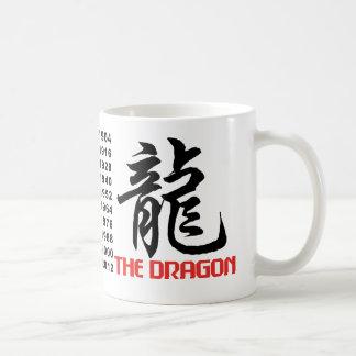 Años del dragón tazas