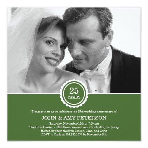 Años maravillosos de invitación del aniversario