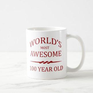 Años más impresionantes del mundo los 100 taza