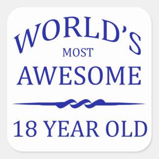 Años más impresionantes del mundo los 18 etiqueta