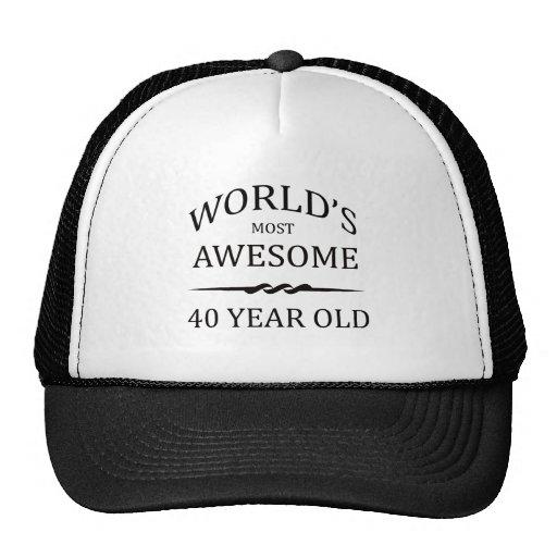 Años más impresionantes del mundo los 40 gorras de camionero