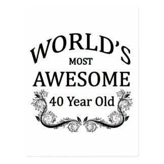 Años más impresionantes del mundo los 40 postales
