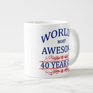 Años más impresionantes del mundo los 40 taza de café gigante
