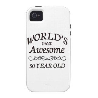 Años más impresionantes del mundo los 50 iPhone 4 carcasas