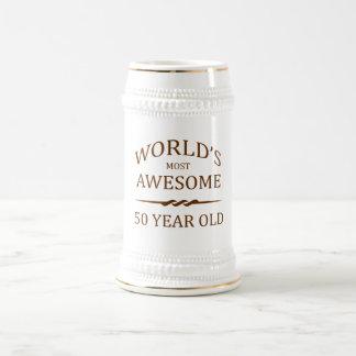 Años más impresionantes del mundo los 50 jarra de cerveza