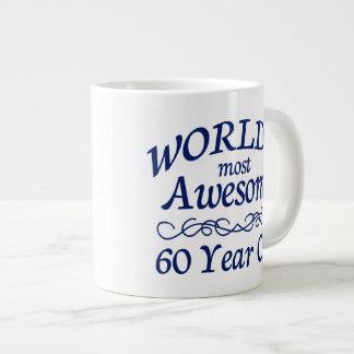 Años más impresionantes del mundo los 60 taza grande