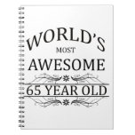 Años más impresionantes del mundo los 65 cuadernos