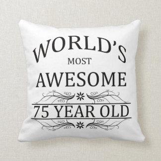 Años más impresionantes del mundo los 75 almohada