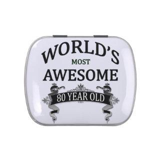 Años más impresionantes del mundo los 80 latas de dulces