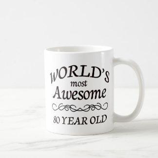 Años más impresionantes del mundo los 80 taza de café