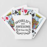 Años más impresionantes del mundo los 90 barajas de cartas
