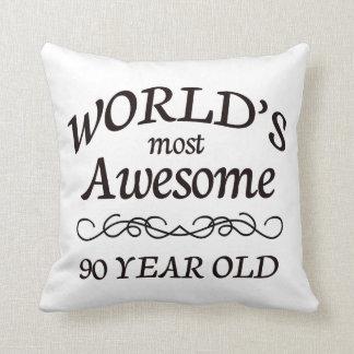 Años más impresionantes del mundo los 90 almohada