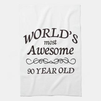 Años más impresionantes del mundo los 90 toalla