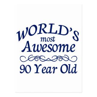 Años más impresionantes del mundo los 90 postales