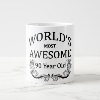 Años más impresionantes del mundo los 90 taza grande