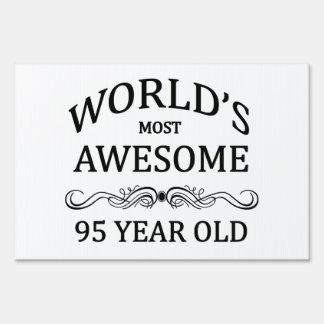 Años más impresionantes del mundo los 95 cartel