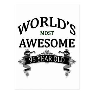 Años más impresionantes del mundo los 95 postal