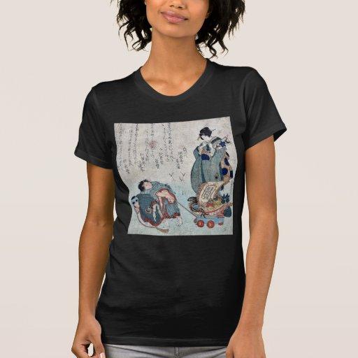 Años Nuevos de bádminton y nave de los tesoros Camisetas