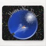 Años Nuevos de celebración de la supernova Alfombrillas De Ratón