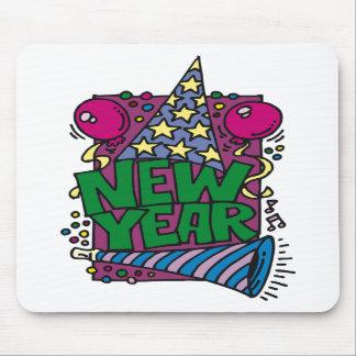 Años Nuevos de celebración Alfombrillas De Ratones