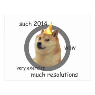 Años Nuevos de dux de la resolución Postales